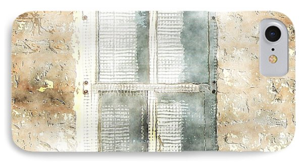 Mesh Window IPhone Case by The Art of Marsha Charlebois