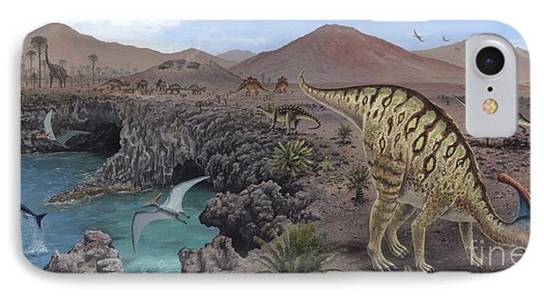mesozoic reptiles In fact, the first mammals evolved from a population of vertebrates called therapsids (mammal-like reptiles) at the end of the triassic period and coexisted with dinosaurs throughout the mesozoic era but part of this folktale has a grain of truth.