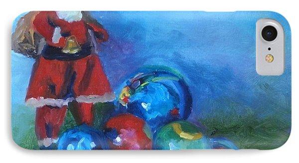 Mexico Santa  IPhone Case by Carol Berning