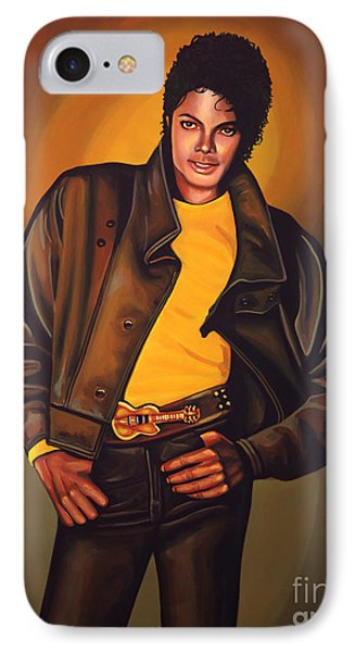 Michael Jackson IPhone 7 Case by Paul Meijering