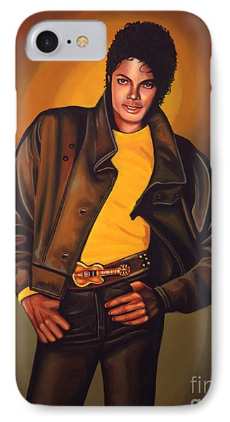 Michael Jackson IPhone Case by Paul Meijering