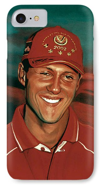 Michael Schumacher Phone Case by Paul Meijering