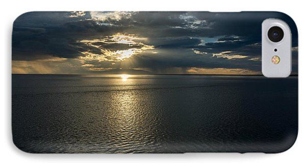 Midnight Sun Over Mount Susitna IPhone Case