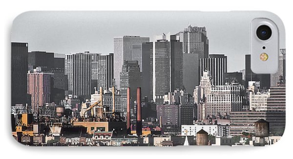 IPhone Case featuring the photograph Midtown Manhattan 1978 by Kellice Swaggerty