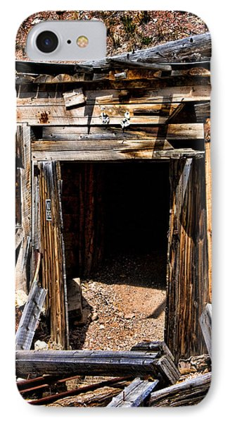 Midwest Mine Shaft IPhone Case by Lana Trussell