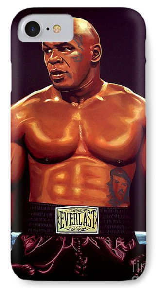 Mike Tyson IPhone Case by Paul Meijering