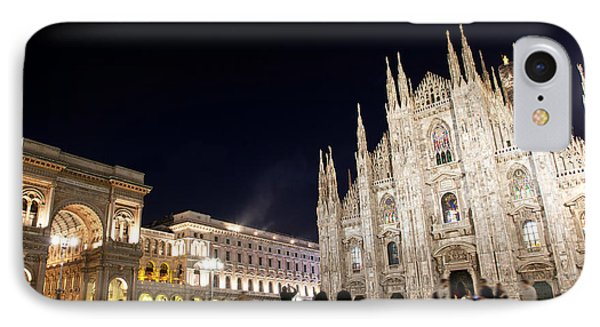 Milan Cathedral Vittorio Emanuele II Gallery Italy IPhone Case