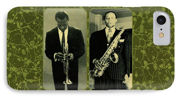 Miles Davis And Jimmy Forest -  Our Delight IPhone Case