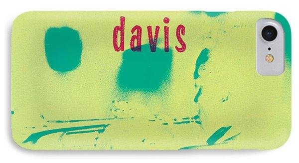 Miles Davis -  Blue Moods IPhone Case