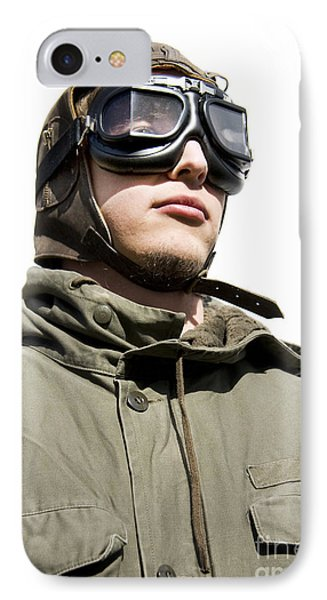 Military Man IPhone Case by Jorgo Photography - Wall Art Gallery