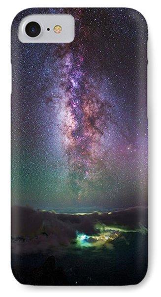 Milky Way Over La Palma IPhone Case by Babak Tafreshi