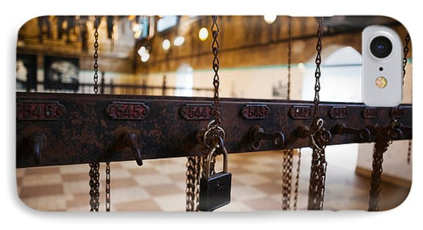 Miners Clothing Hanging Room, Salle Des IPhone Case by Panoramic Images