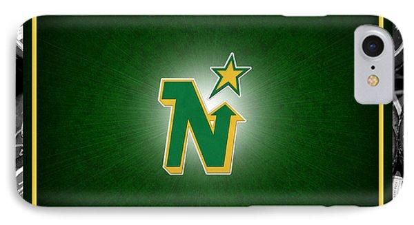 Minnesota North Stars IPhone Case by Joe Hamilton