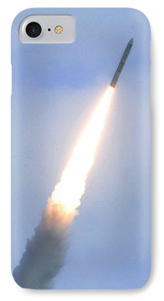 Minotaur Iv Lite Launch IPhone Case by Science Source
