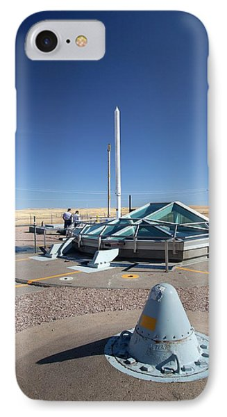 Minuteman Missile Silo IPhone Case by Jim West