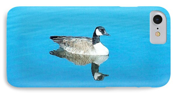 IPhone Case featuring the photograph Mirror Goose by Kerri Mortenson