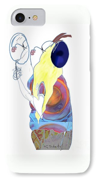 Mirror Mirror IPhone Case by Gabrielle Schertz