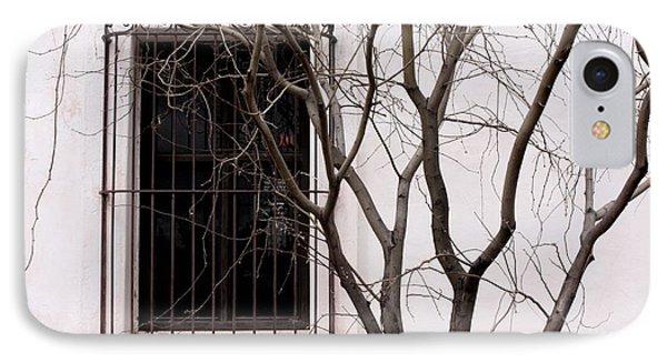 Mission Church Window IPhone Case by Joe Kozlowski
