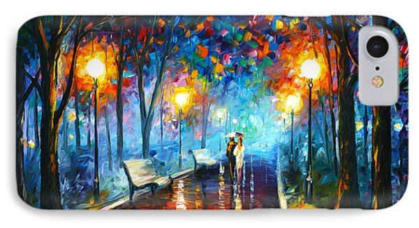 Misty Mood IPhone Case by Leonid Afremov