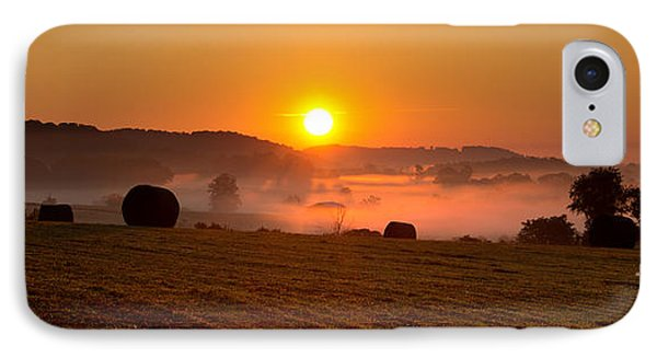 IPhone Case featuring the photograph Misty Ridge by Everett Houser