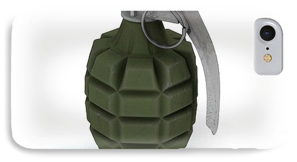 Mk 2 Grenade IPhone Case by Mikkel Juul Jensen
