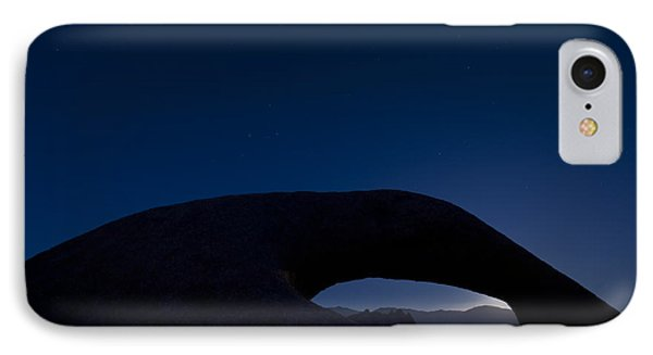 Mobius Arch At Night, Alabama Hills IPhone Case by John Shaw