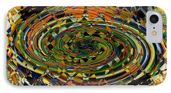 IPhone Case featuring the digital art Modern Art I by rd Erickson