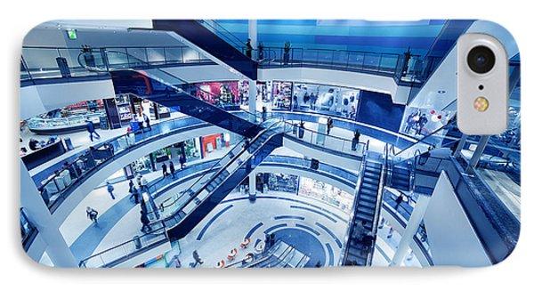 Modern Shopping Mall Interior Phone Case by Michal Bednarek