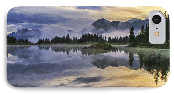 Molas Lake Sunrise IPhone Case