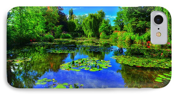Monet's Lily Pond IPhone Case by Midori Chan