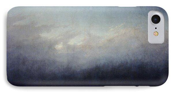 Monk By Sea Phone Case by  Caspar David Friedrich