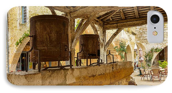 IPhone Case featuring the photograph monpazier en Perigord by Dany Lison