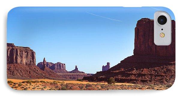 Monument Valley Landscape Phone Case by Jane Rix