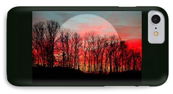 Moon Dance Phone Case by Karen Wiles