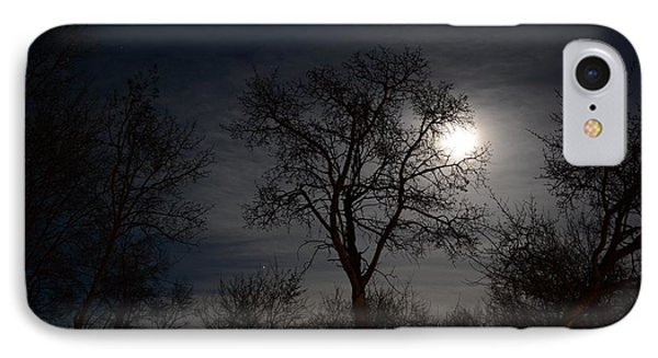 Moon Lit IPhone Case by Ellery Russell