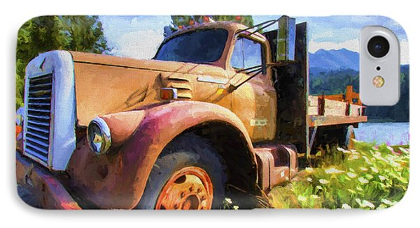 Moose Pass Limo Phone Case by David Wagner