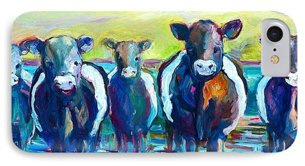 Moove Over IPhone Case by Sue Scoggins