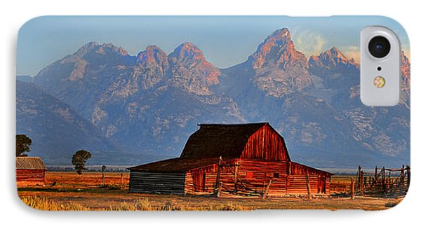 Mormon Row And The Grand Tetons  Phone Case by Ken Smith