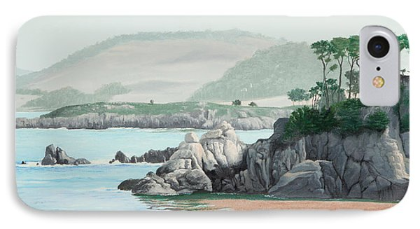 Morning At Point Lobos IPhone Case