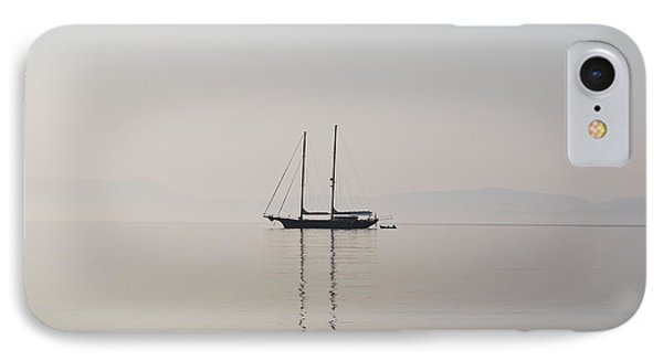 IPhone Case featuring the photograph Morning Mist by George Katechis