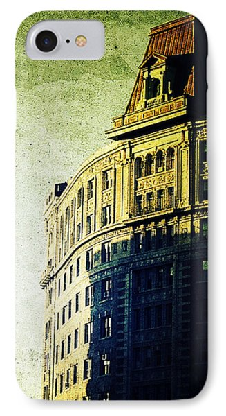 Morningside Heights Green Phone Case by Natasha Marco