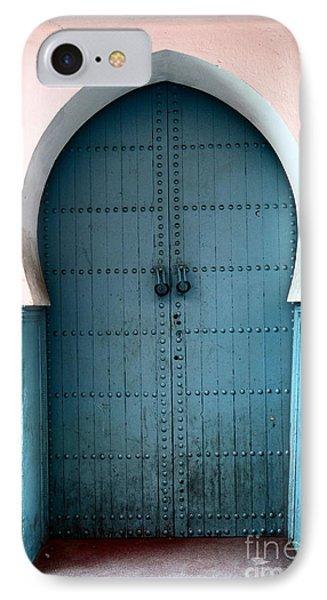 Moroccan Door Phone Case by Sophie Vigneault