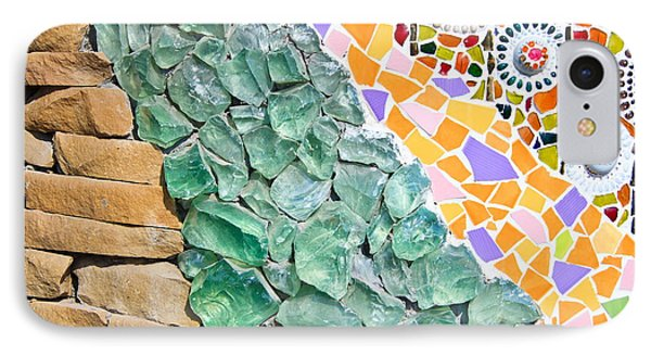 Mosaic Texture  Phone Case by Niphon Chanthana