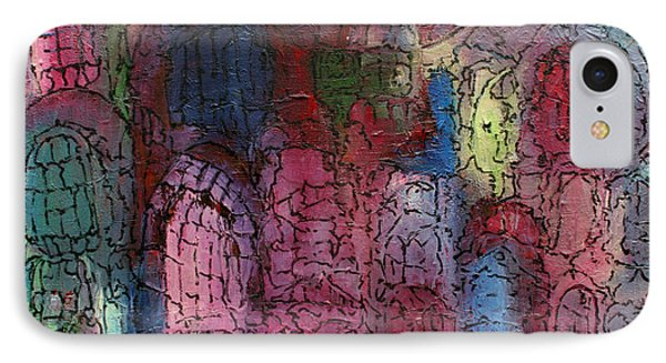 Mosaic Town IPhone Case