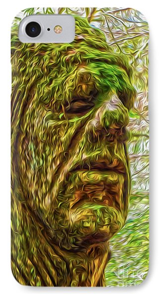 Moss Man IPhone Case by Gregory Dyer