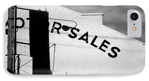IPhone Case featuring the photograph Motor Sales by Robert Riordan
