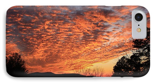 IPhone Case featuring the photograph Mount Cheaha Sunset Alabama by Mountains to the Sea Photo