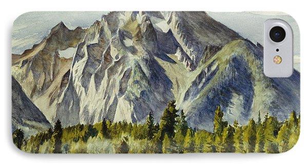 Mount Moran Phone Case by Edward Hopper
