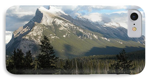 Mount Rundle IPhone Case by Stuart Turnbull