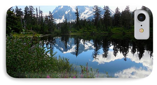 Mount Shuksan Reflection IPhone Case
